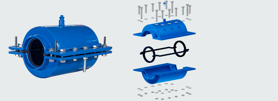 Hydro Smart dedicated socket collars for small pipe diameters