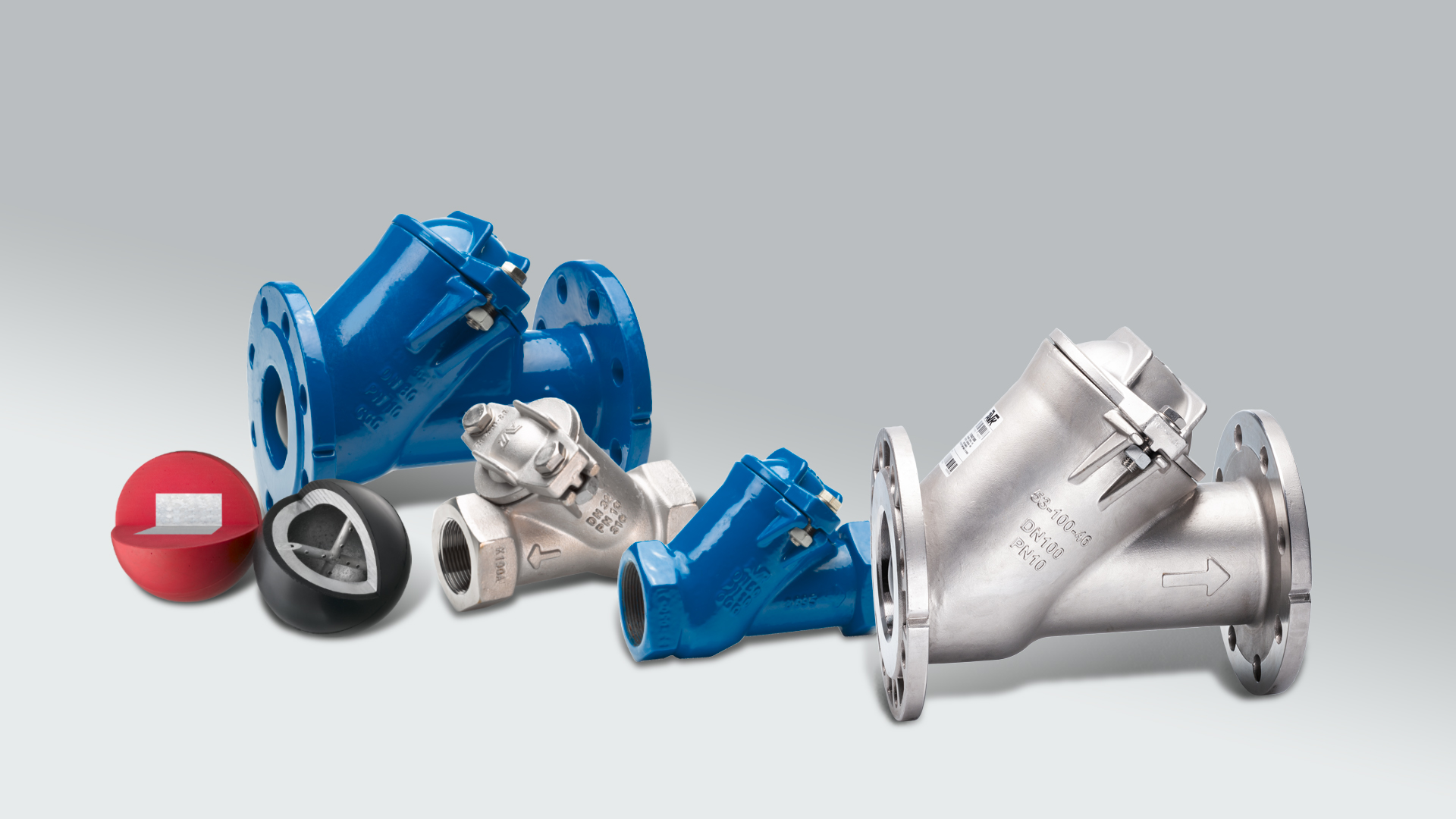 AVK series 53 ball check valves