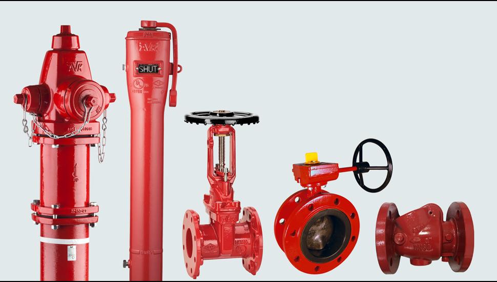 AVK valves for fire protection