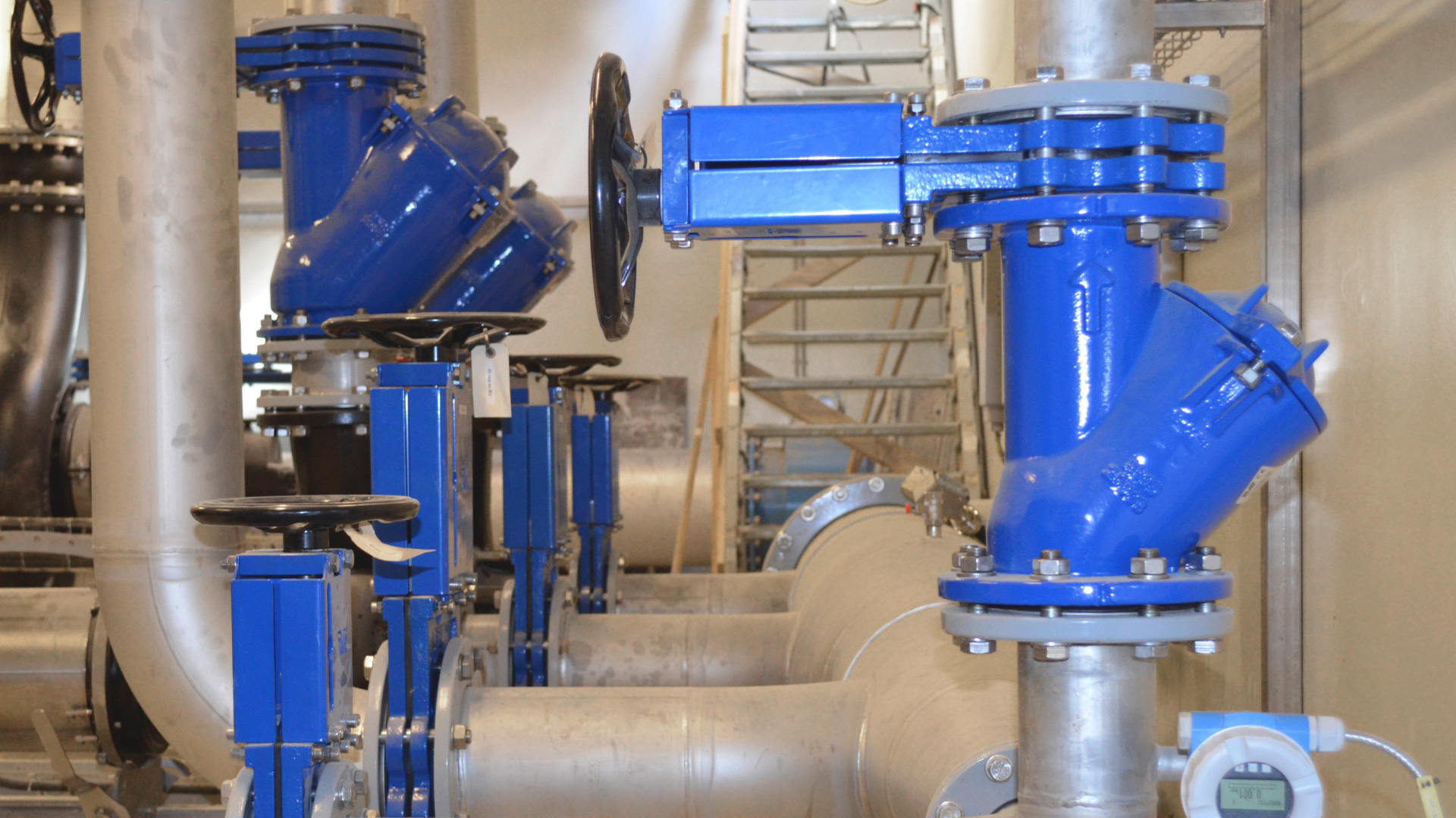 Ball check valves installed in Mariager