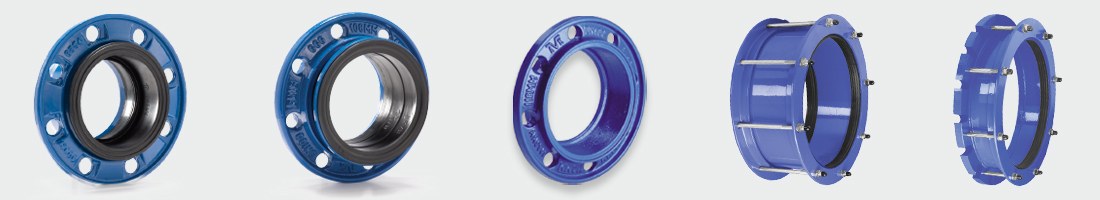 AVK Couplings without tensile resistance and REPICO