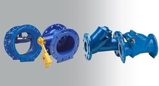 AVK Ball check valves, Swing check valves, Tilting disc check valves, Tilting disc, slanted seat check valves