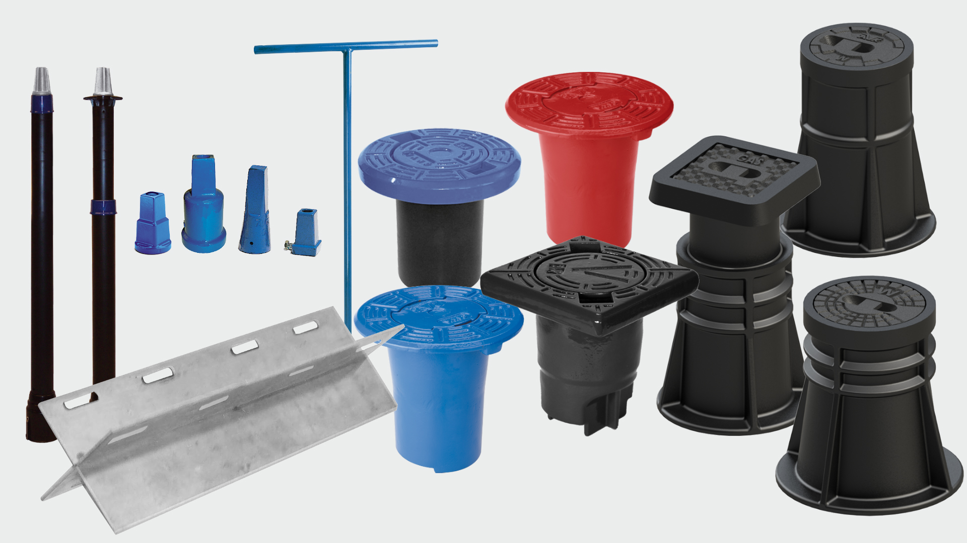 Selection of accessories for gate valves