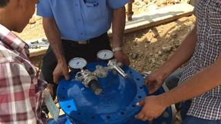Installation of control valve