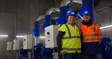 Aquafin project leaders