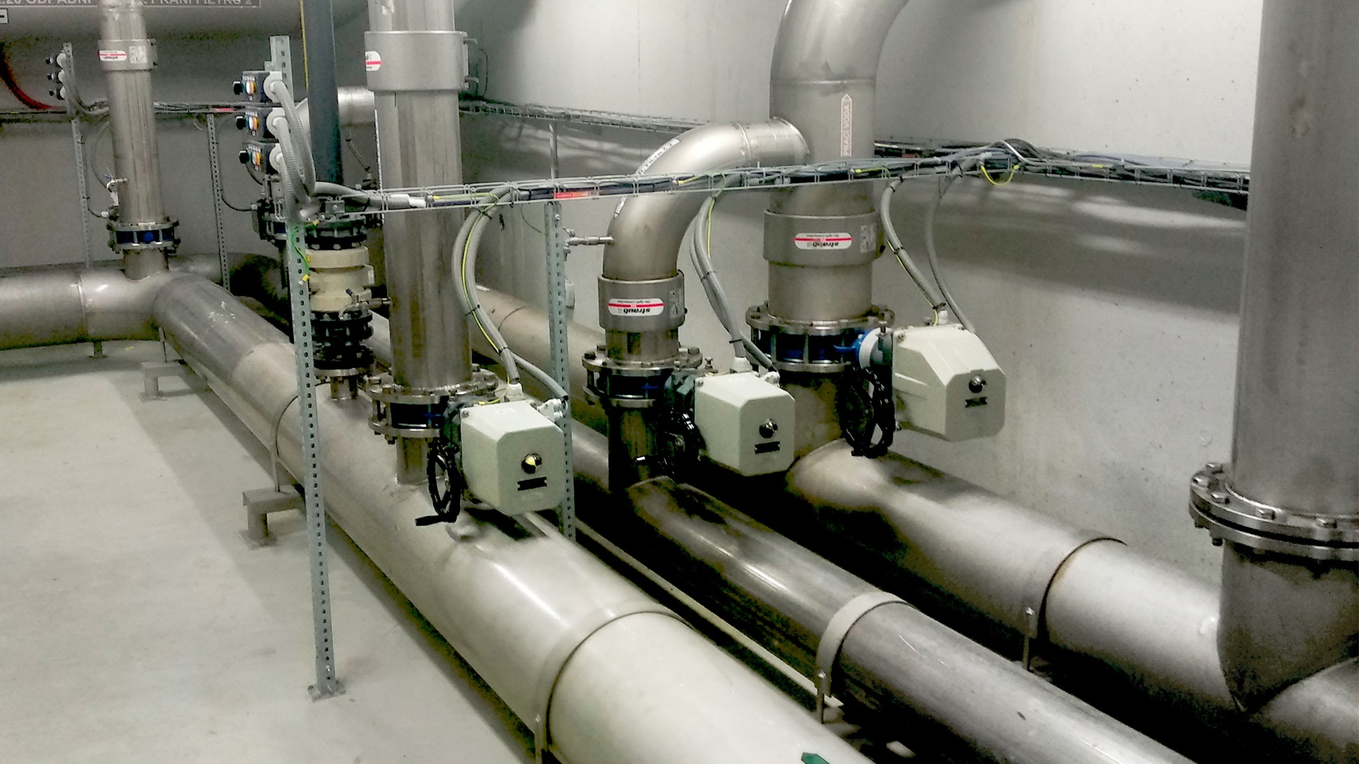 Písek has got its own water treatment plant and AVK VODKA install valves