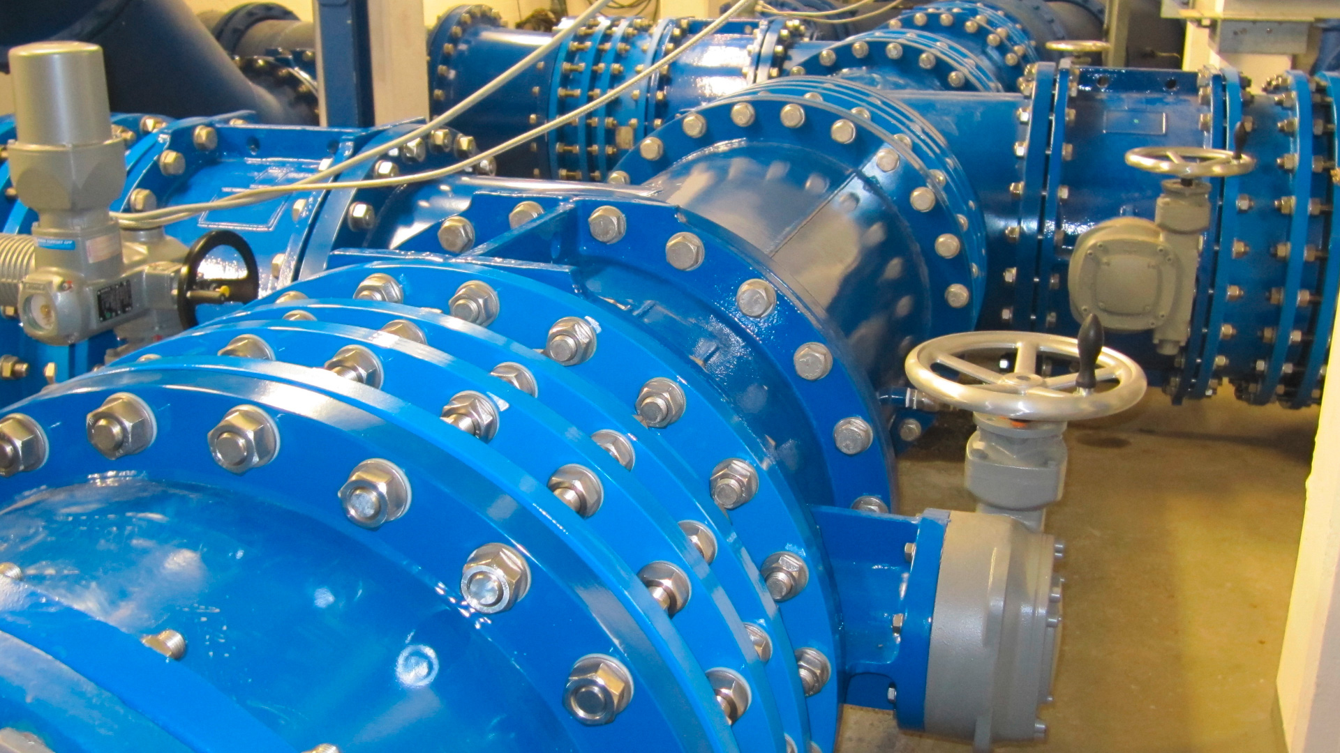 Butterfly valves installed at water treatment plant in Hamburg, Germany