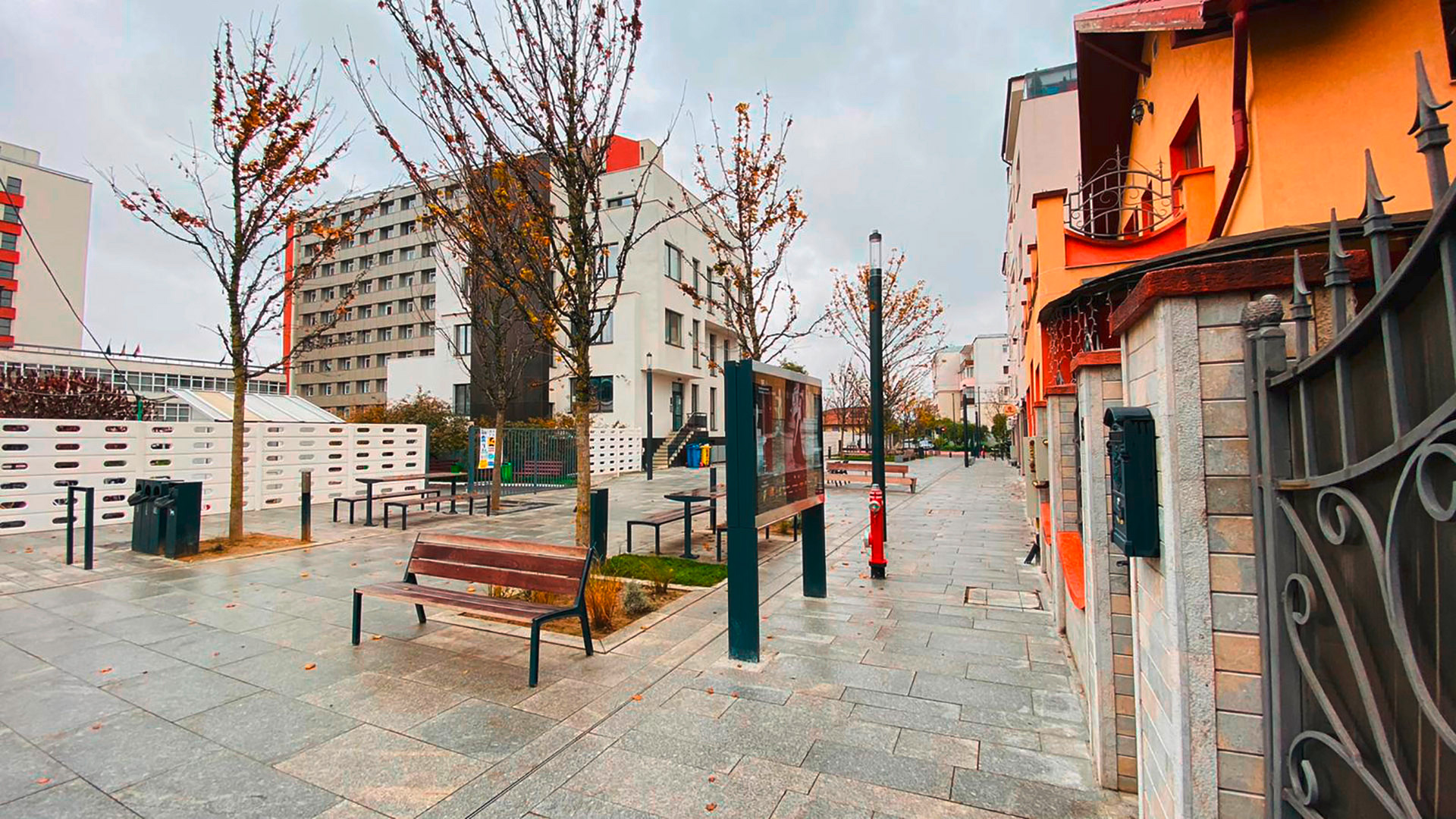 First SMART street in Cluj Romania with AVK hydrants