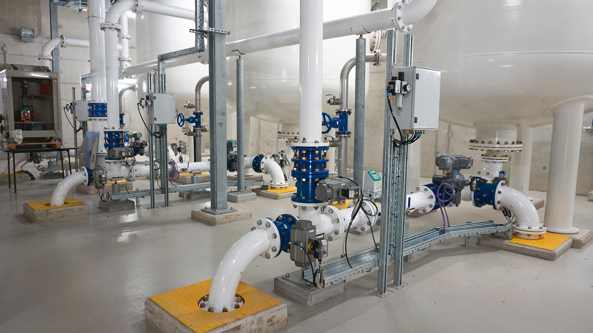 Belgium Water Treatment plant in Eeklo