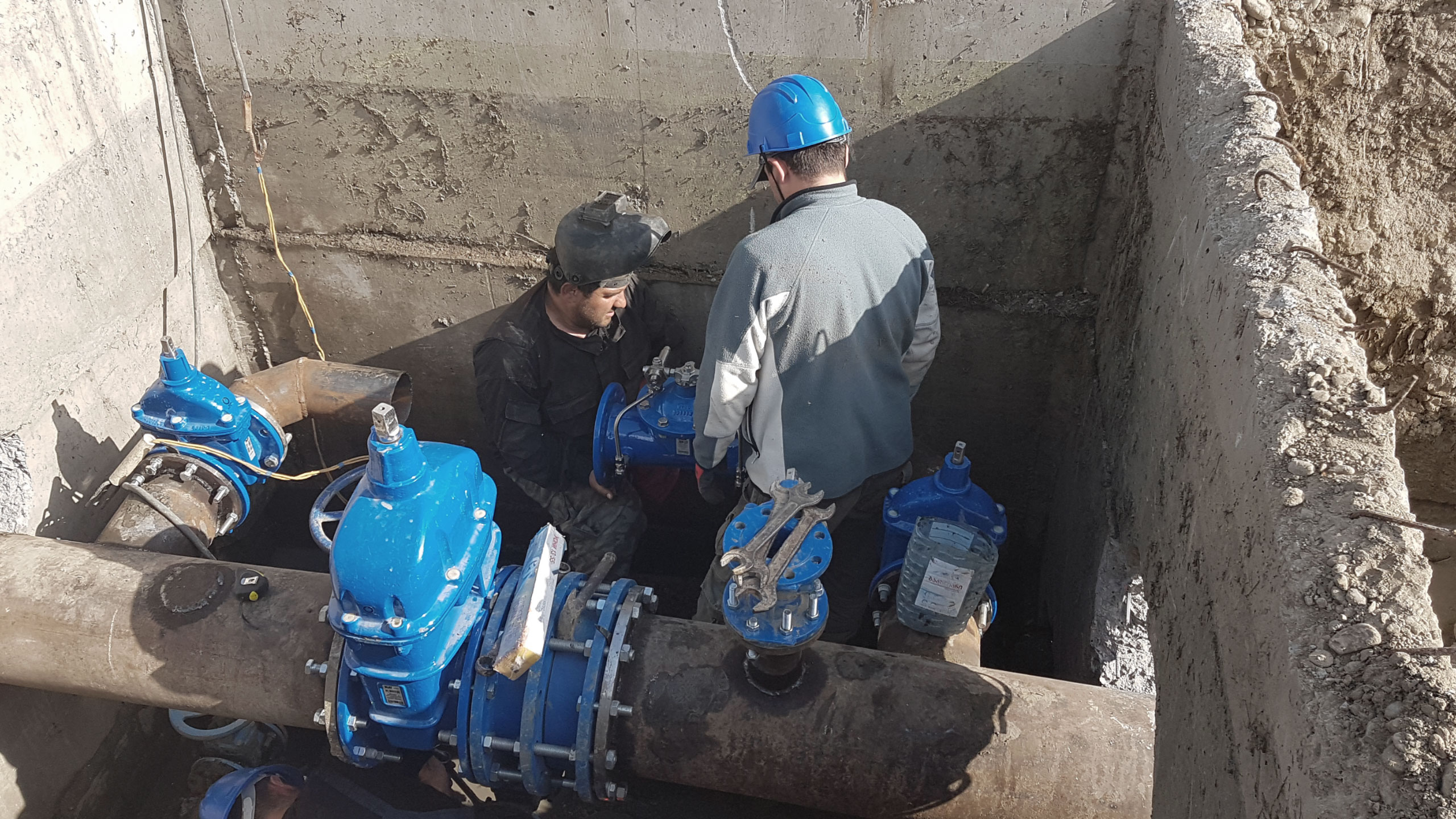 Installation of AVK products at Georgia Water and Power