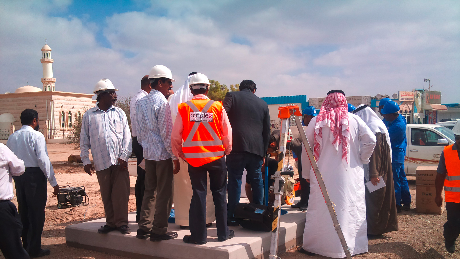 Case story about water loss in Abu Dhabi