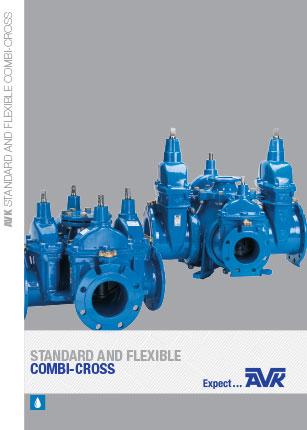 Brochure from AVK about flexible combi cross