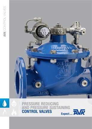Brochure about pressure reducing and pressure sustaining control valves