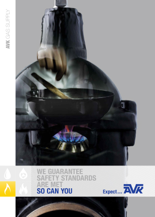 AVK brochure about gas supply