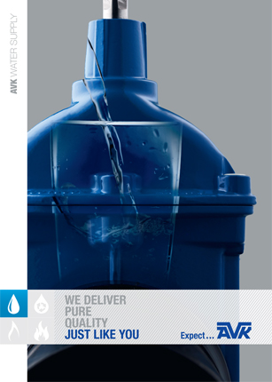Brochure about water supply from AVK