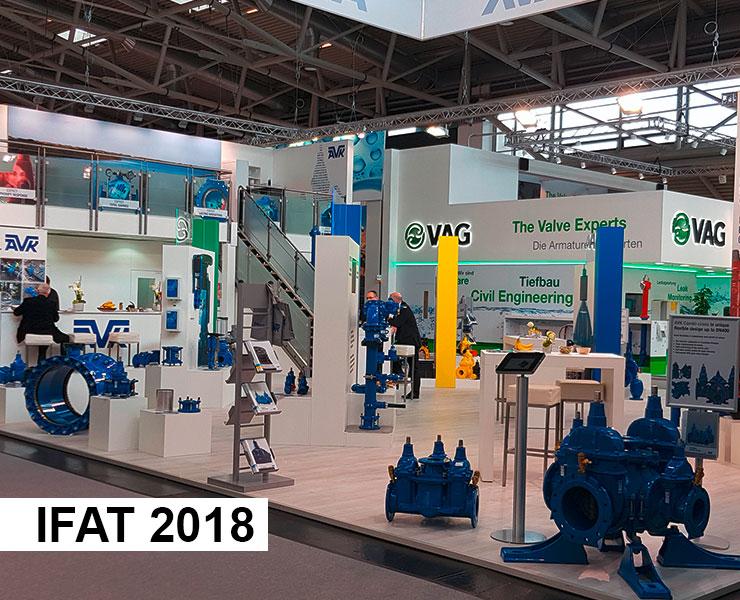 AVK International at IFAT fair trade 2018