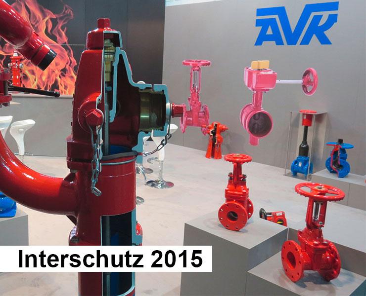 AVK International at fire fair trade 2015