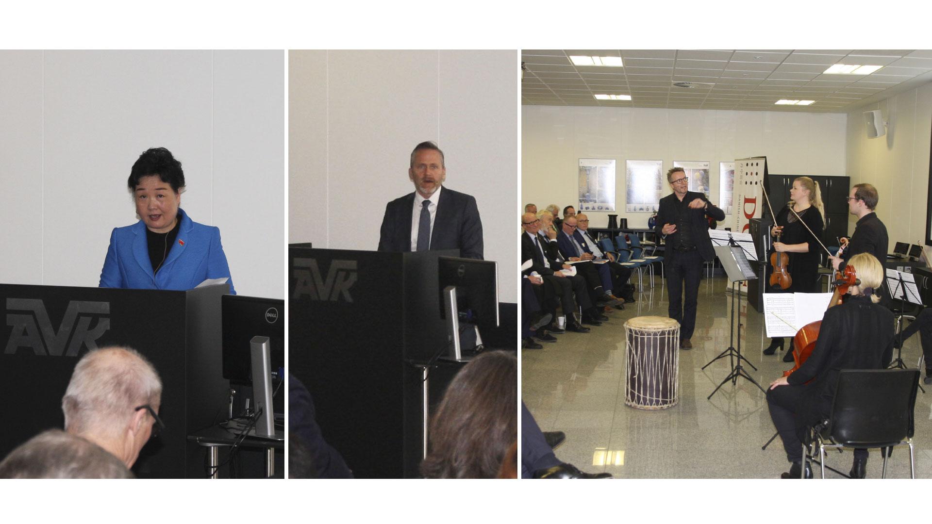Danish-Chinese Business Forum held at AVK in Denmark