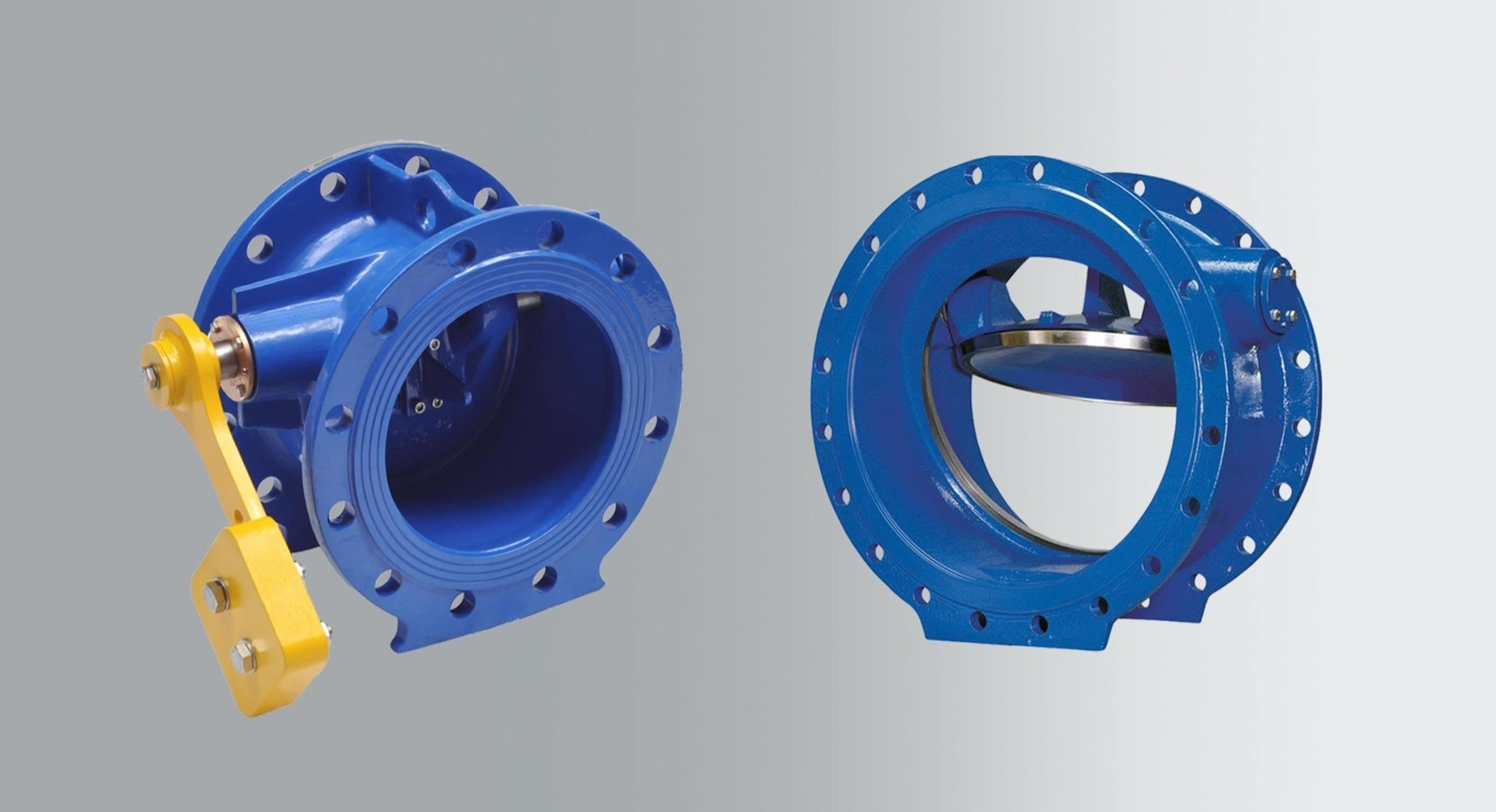 Tilting disc check valves with resilient seat and tilting disc check valves with slanted metal seat