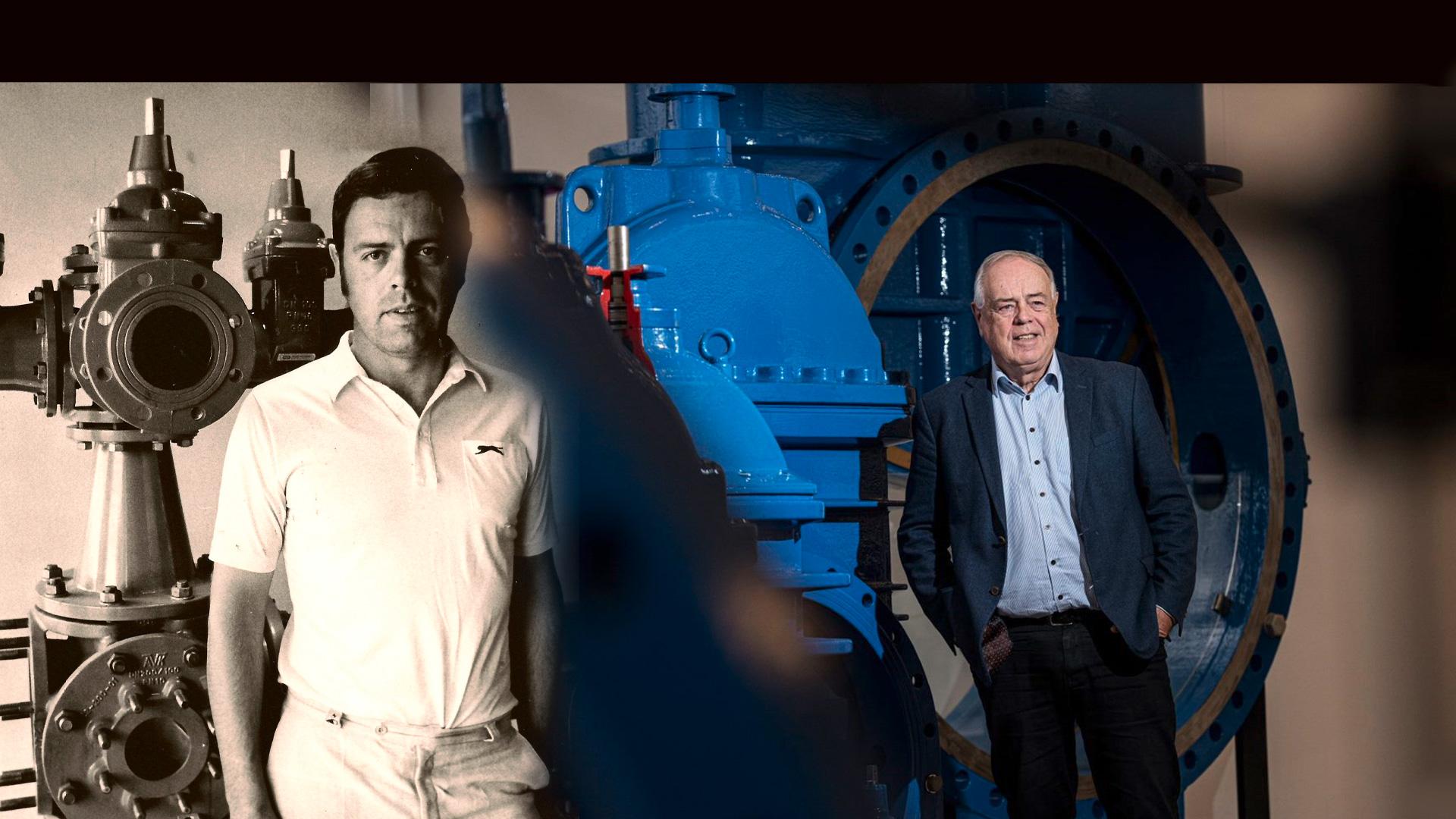 Niels Aage Kjær celebrates 50th work anniversary
