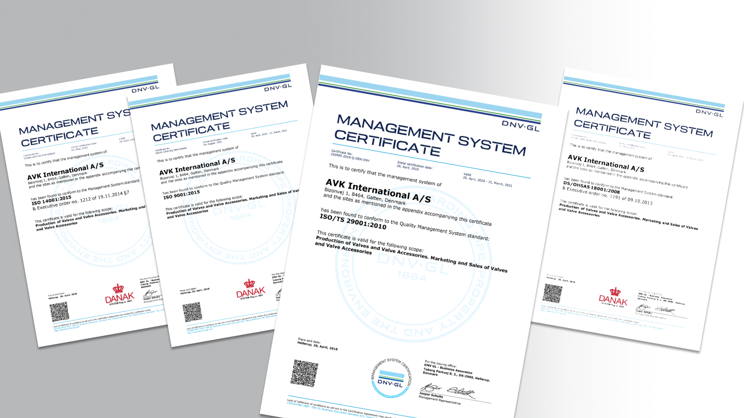 News: AVK is ISO/TS 29001 certified
