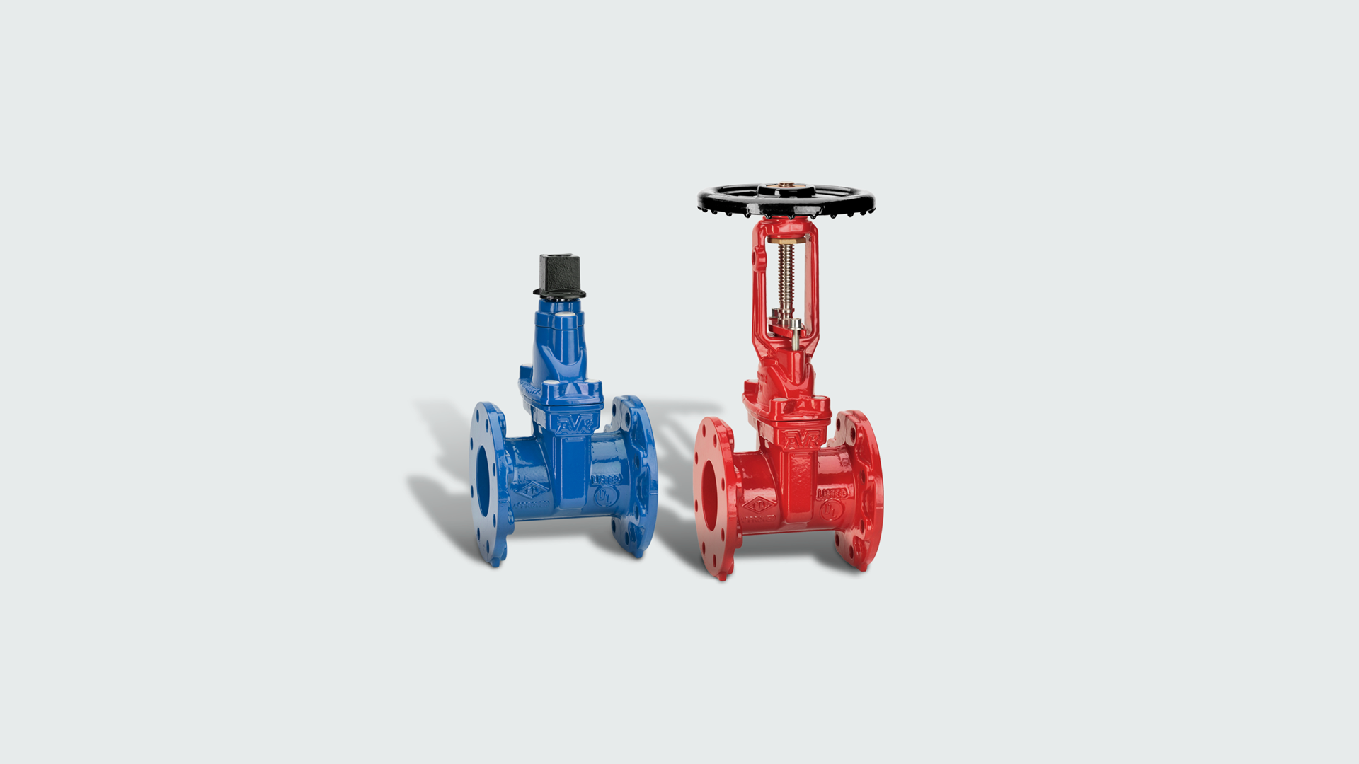 AVK UL and FM approved gate valves for fire protection applications
