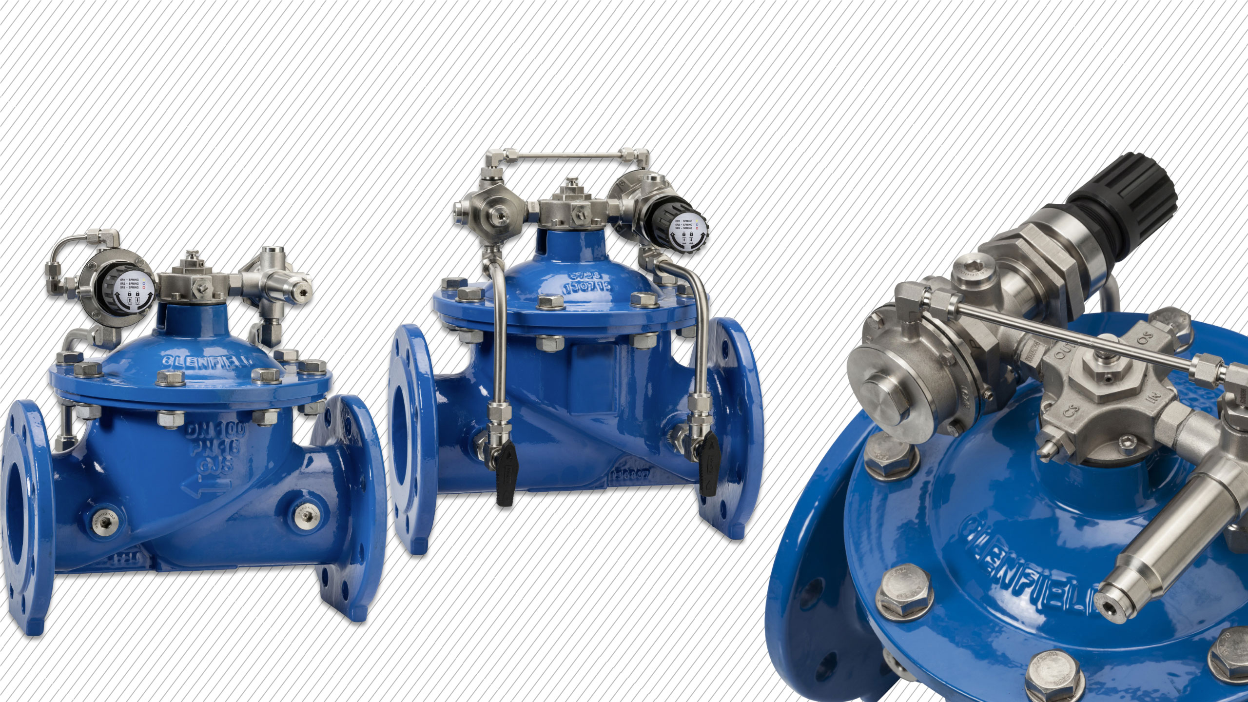 News: AVK control valves added to product range
