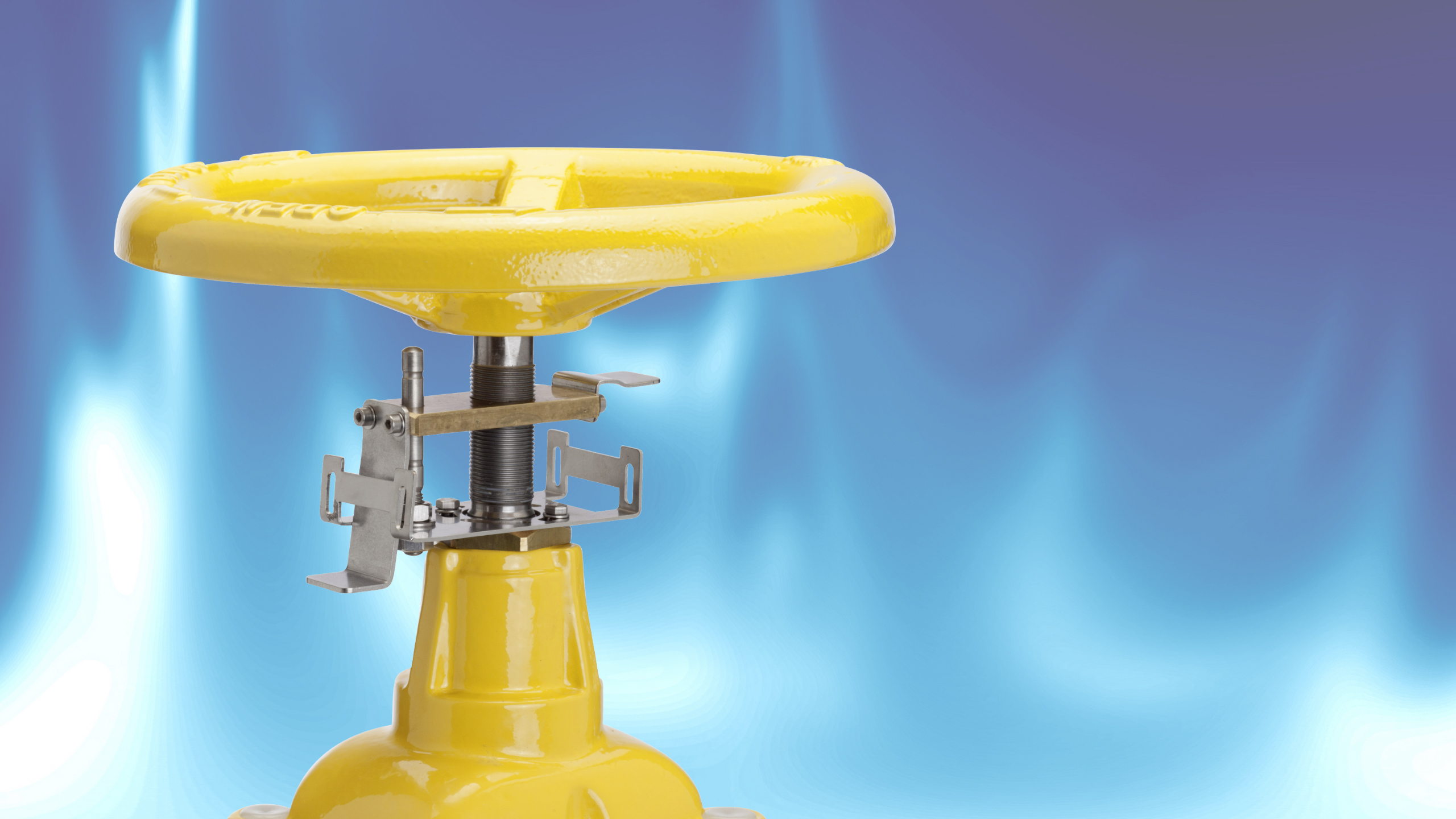 News: Flanged gate valves for gas with position indicator
