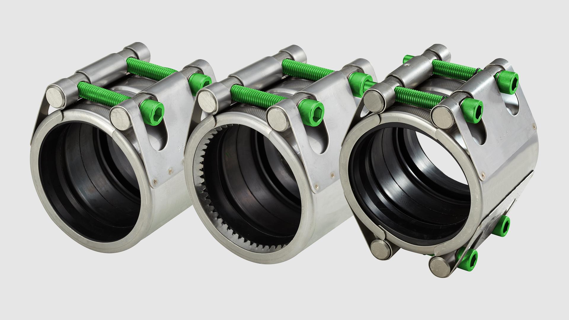 Repico couplings in stainless steel