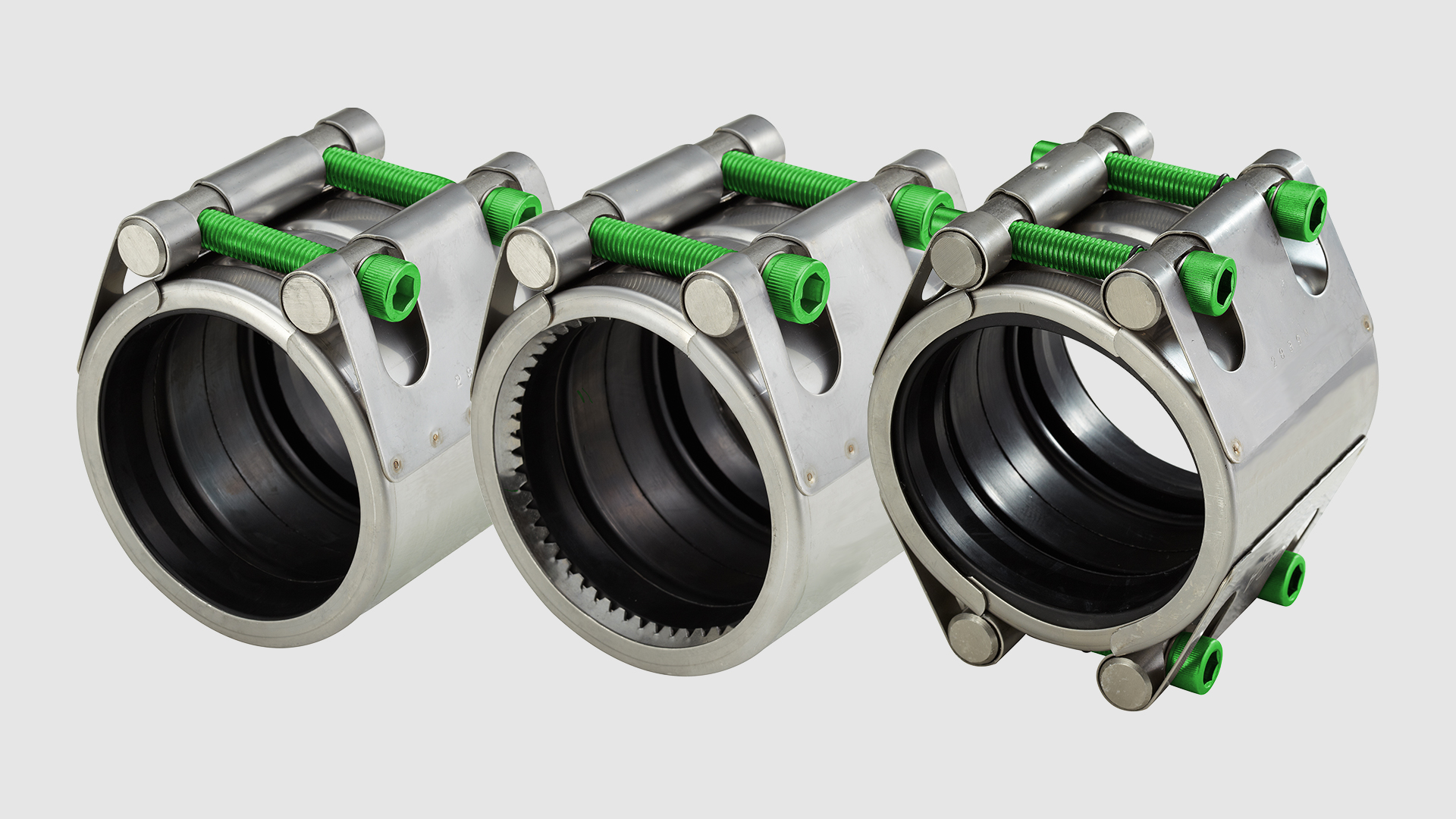 Repico couplings in stainless steel