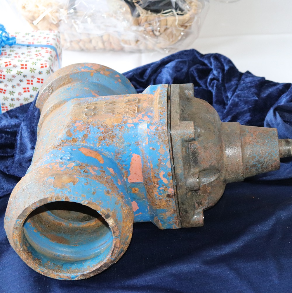 A 50 years old valves returned home to AVK