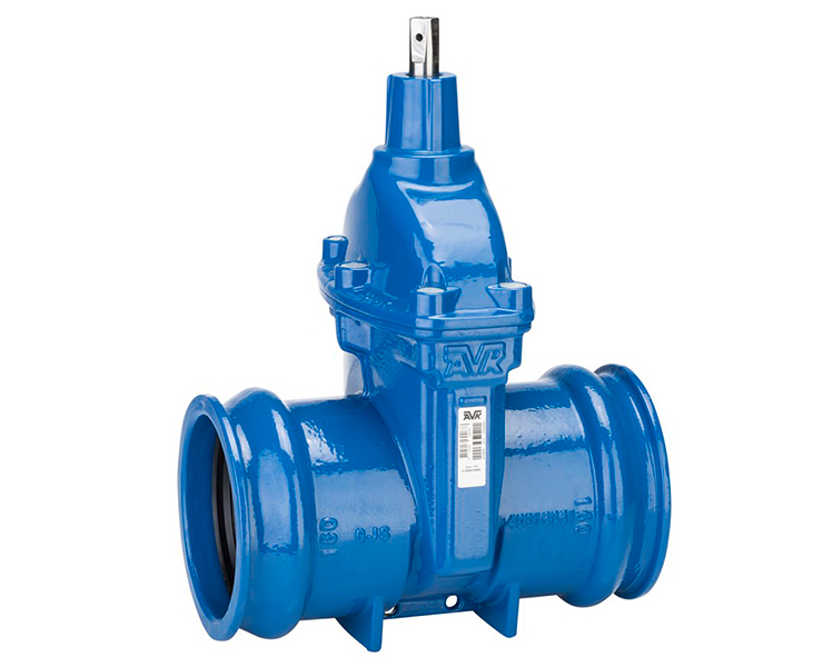 AVK gate valve with socket ends