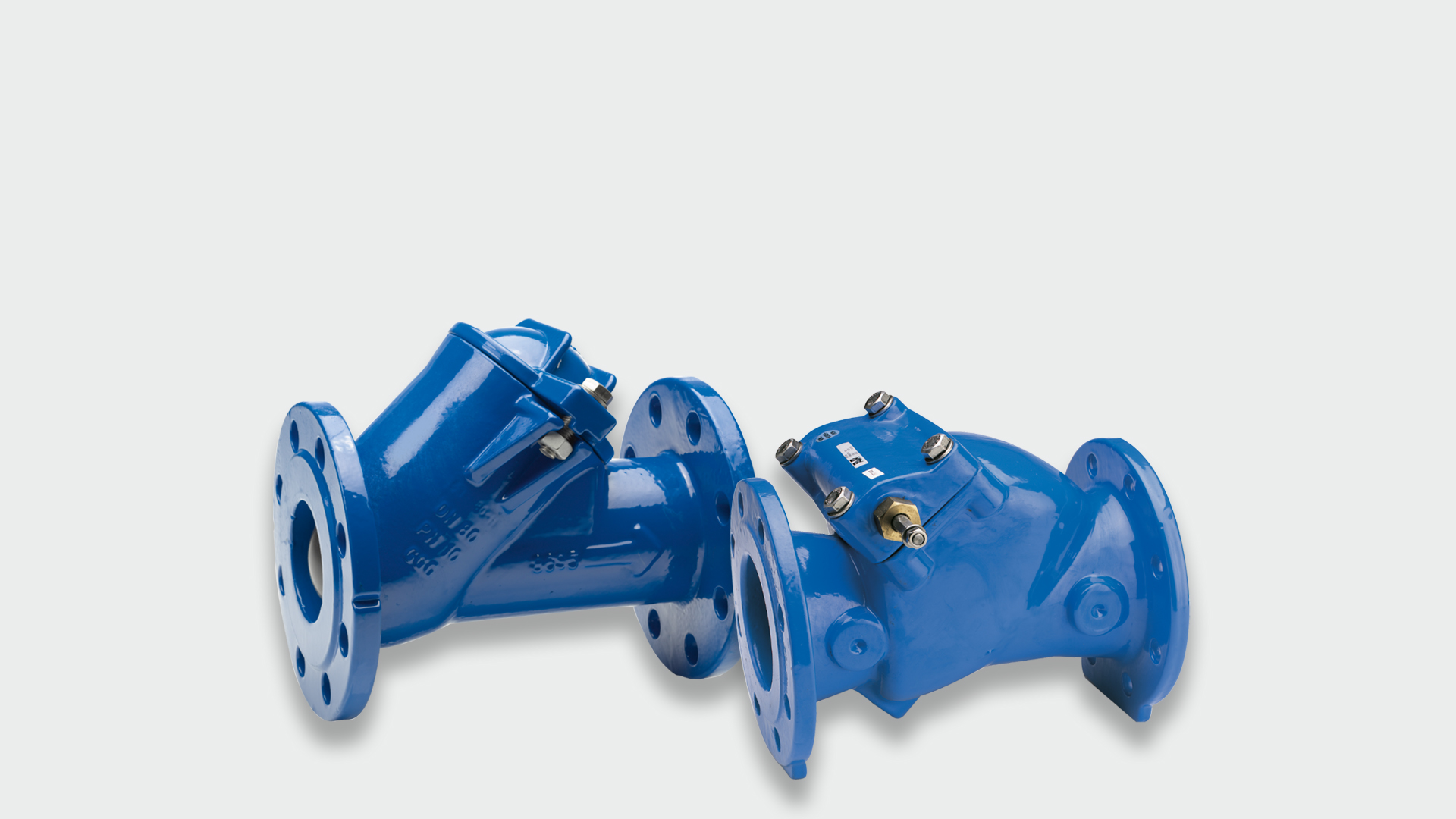 AVK check valves for use in many different applications