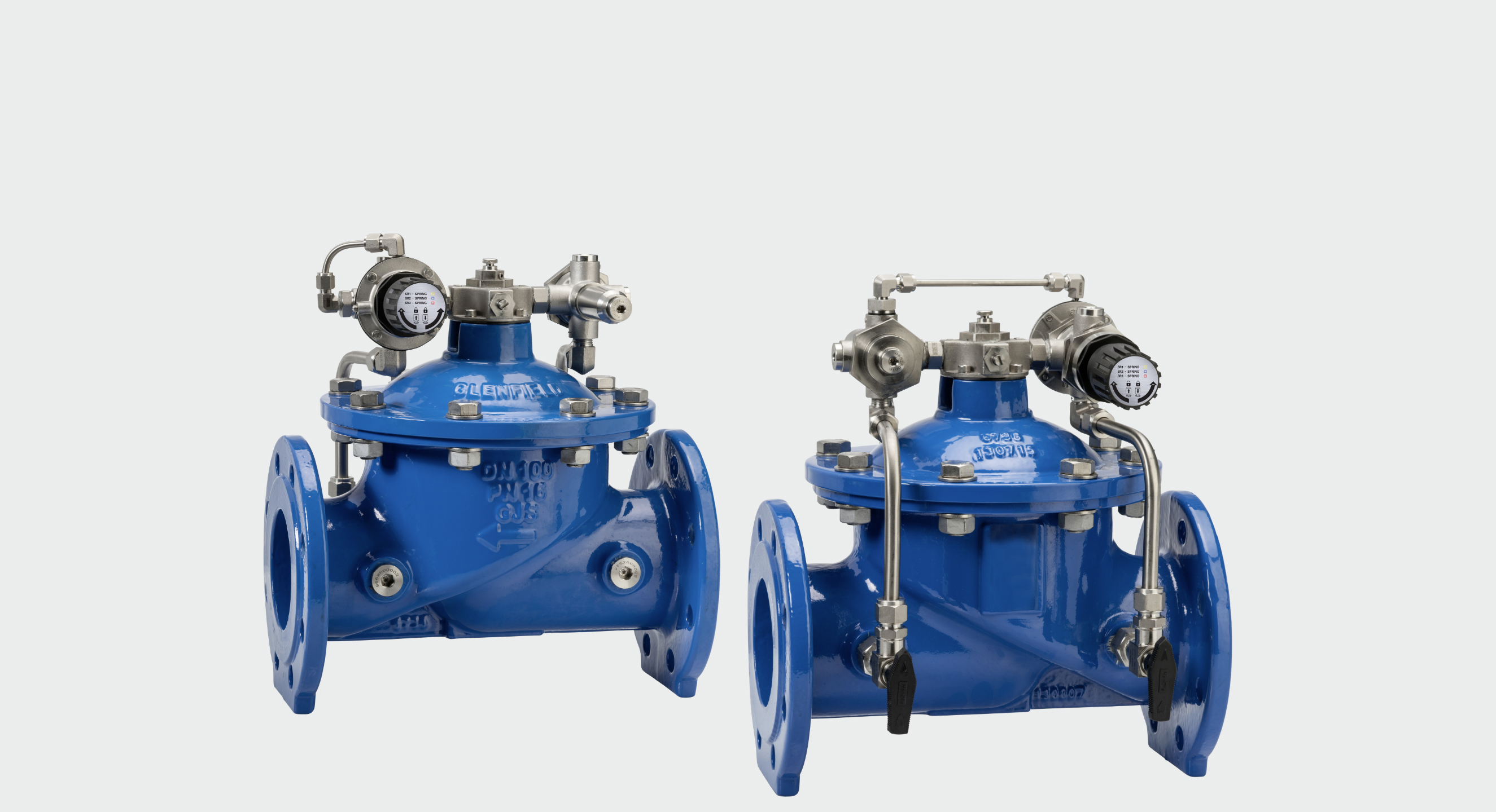 Reduce water loss and manage your water supply efficiently with AVK control valves