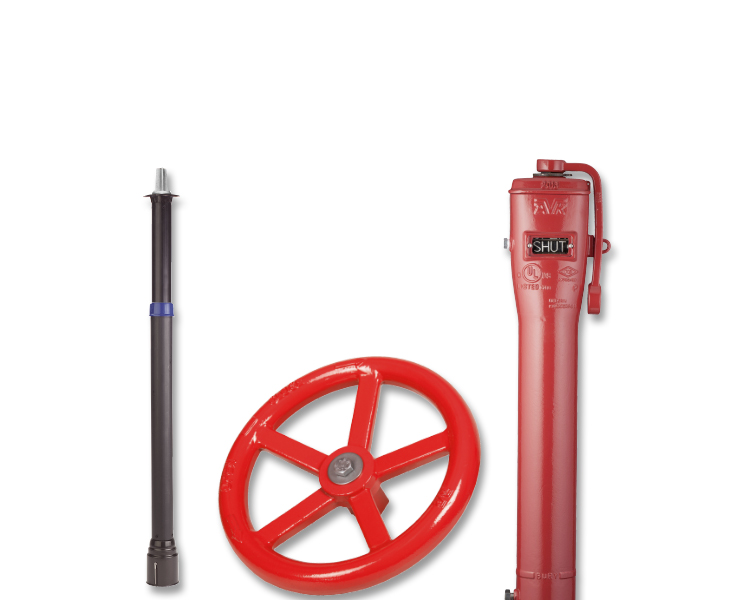 Fire protection accessories for outdoor use