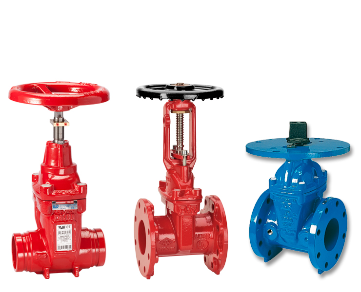 AVK gate valves for fire protection