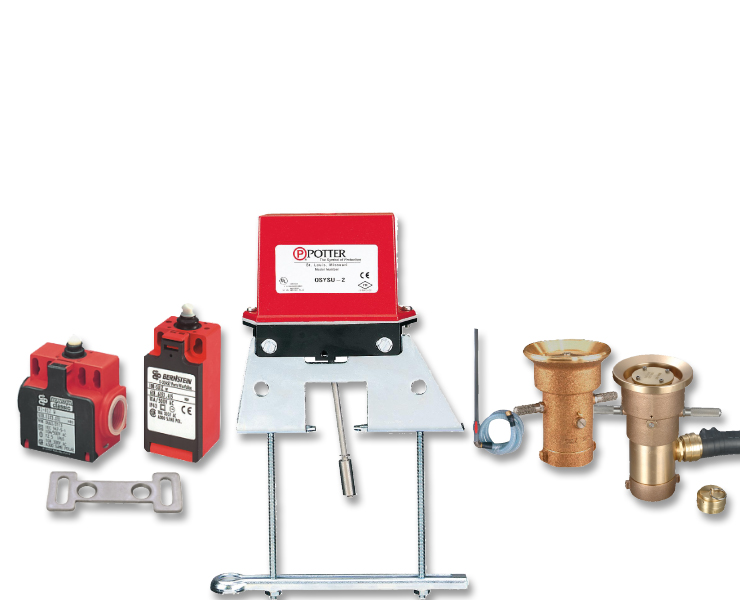 Various other AVK products for fire protection