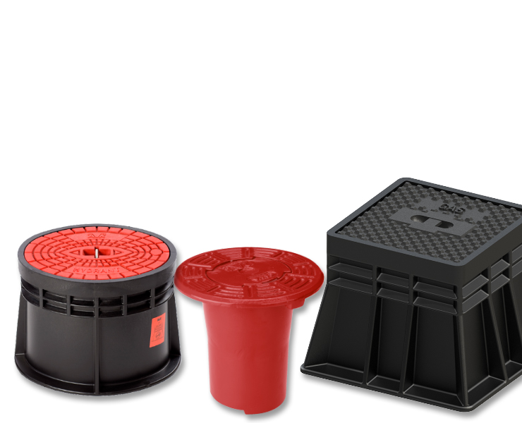 AVK surface boxes for fire protection