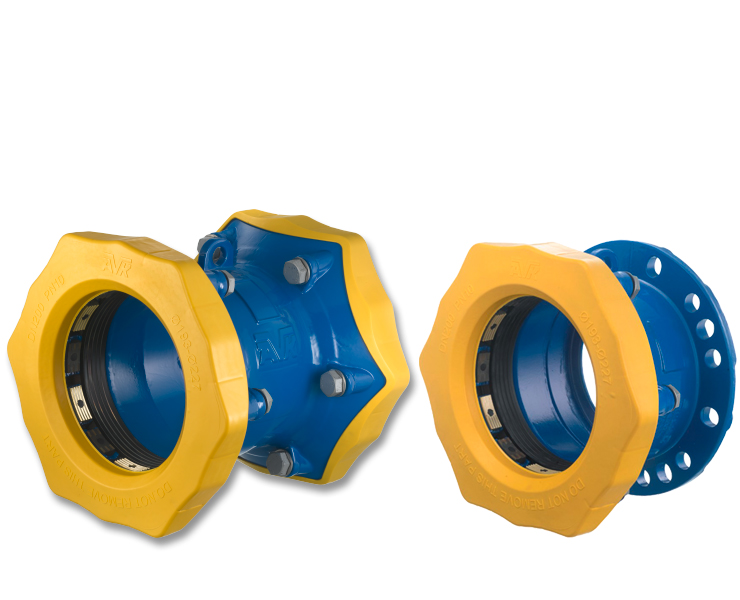 Gas coupling adaptors from AVK