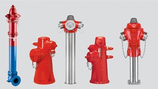 AVK above-ground hydrants product selection