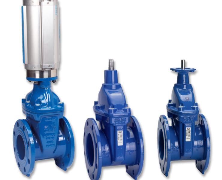 AVK gate valves for wastewater
