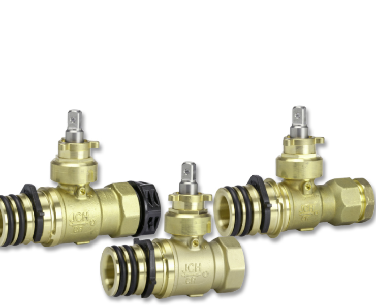 Ball valves for water