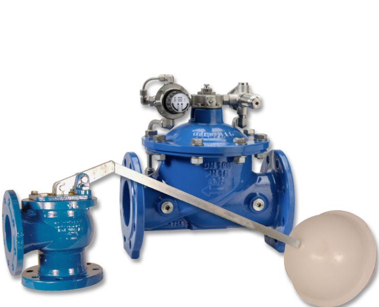 Control valves for water