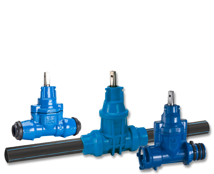 AVK house connection valves for water supply