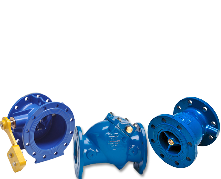 AVK check valves with nozzle check valves for water supply
