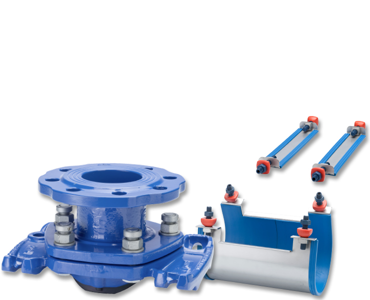 Valves and fittings for water transmission - AVK International