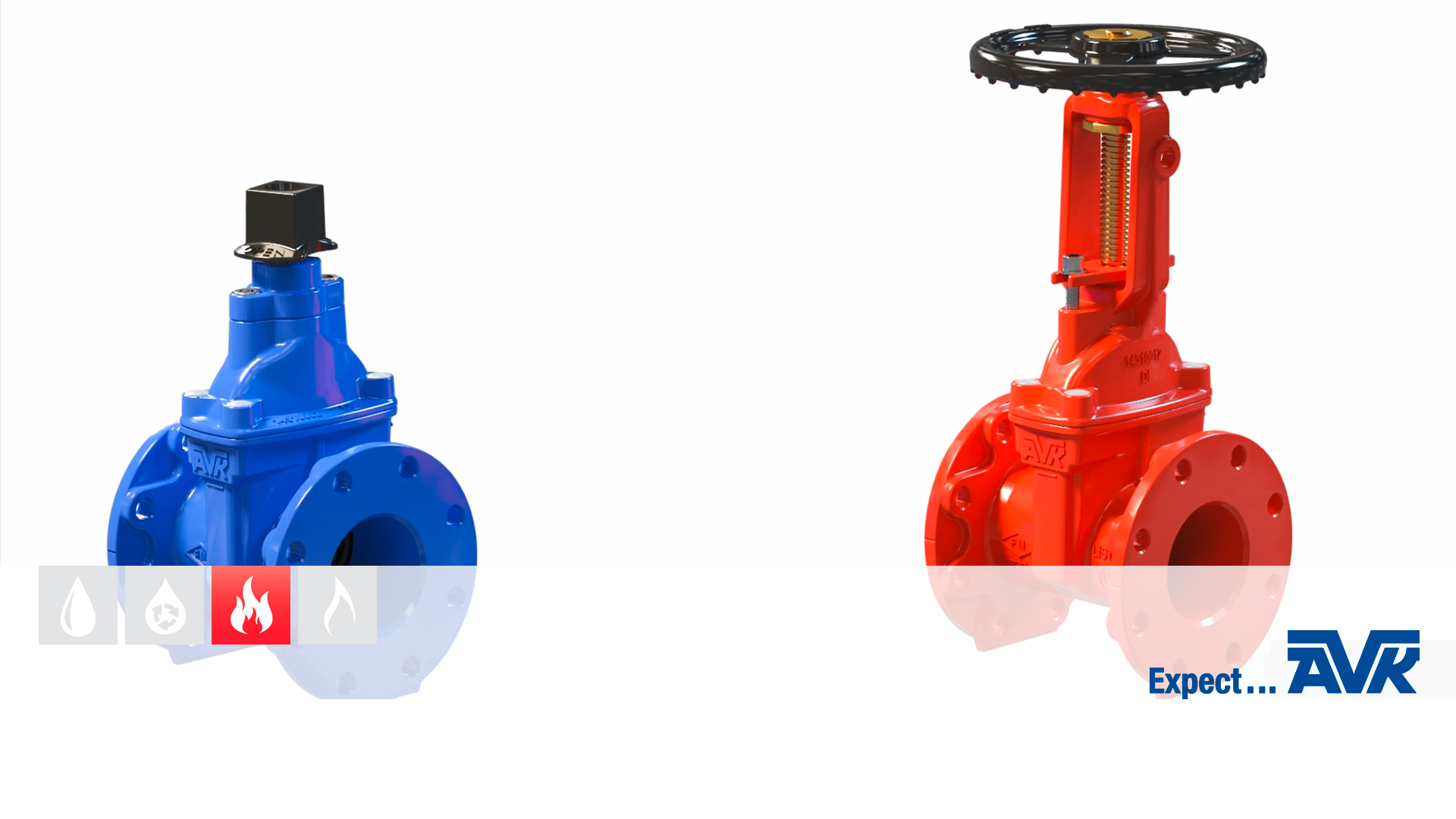 Features and benefits of AVK gate valves for fire protection applications