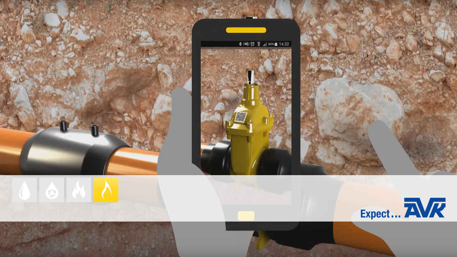 Video tutorial explaining  the App that gives full traceability of gas gate valves