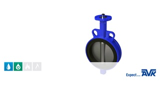 Animation showing the features and installation of the centric butterfly valve loose liner