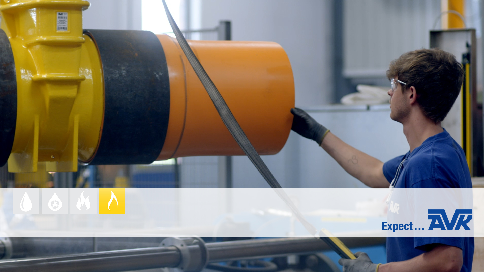 Video about the factory tour for gas products